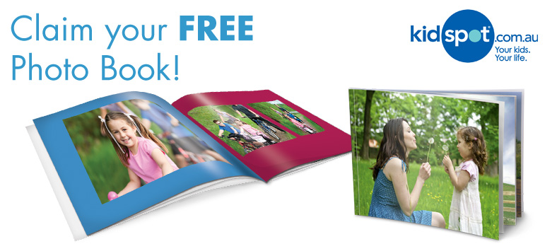 "Claim your free personalised 7x5"" photo book"